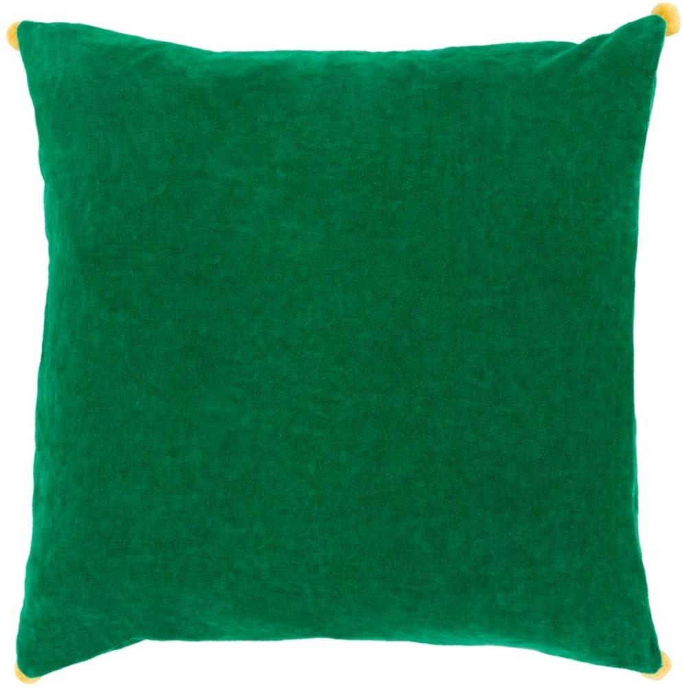 Velvet Poms Pillow by Ruby-Gordon Accents at Ruby Gordon Home