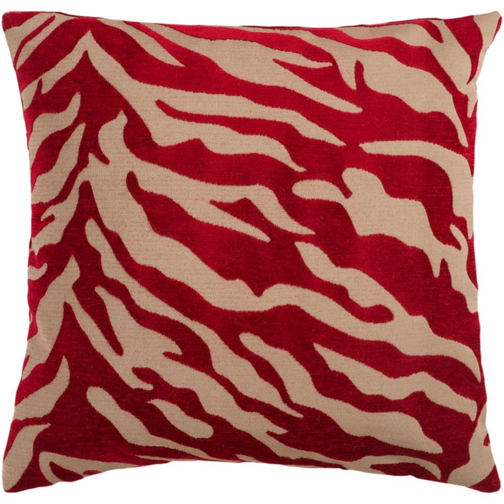 Velvet Zebra Pillow by Ruby-Gordon Accents at Ruby Gordon Home
