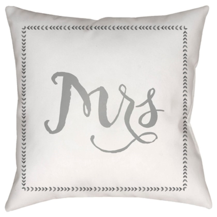 Wife Pillow by Surya at Del Sol Furniture