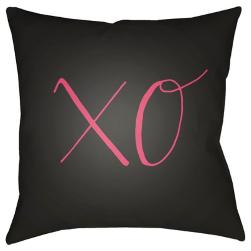 Xoxo Pillow by Surya at Jacksonville Furniture Mart