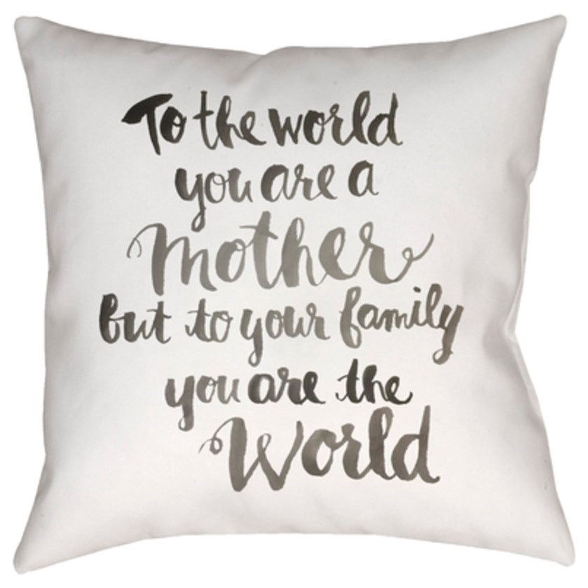 Youre The World Pillow by Ruby-Gordon Accents at Ruby Gordon Home