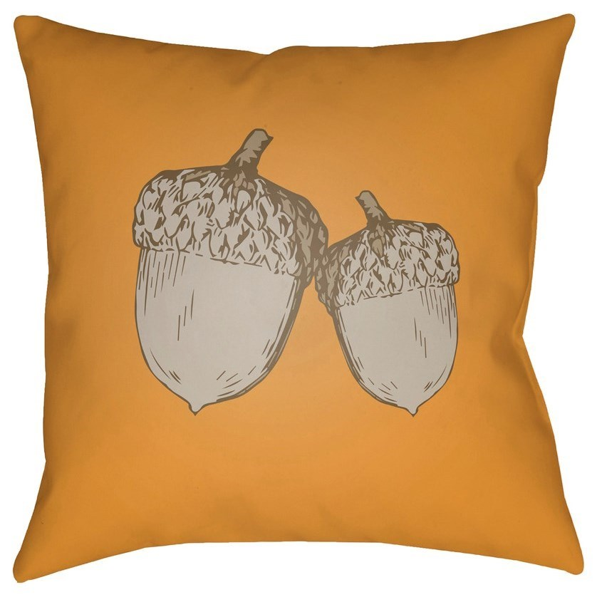 Acorn 18 x 18 x 4 Polyester Throw Pillow by Surya at Lynn's Furniture & Mattress