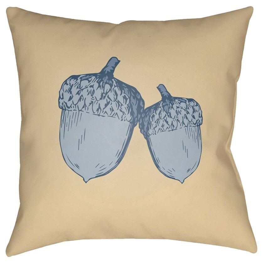 Acorn 20 x 20 x 4 Polyester Throw Pillow by Surya at Lynn's Furniture & Mattress