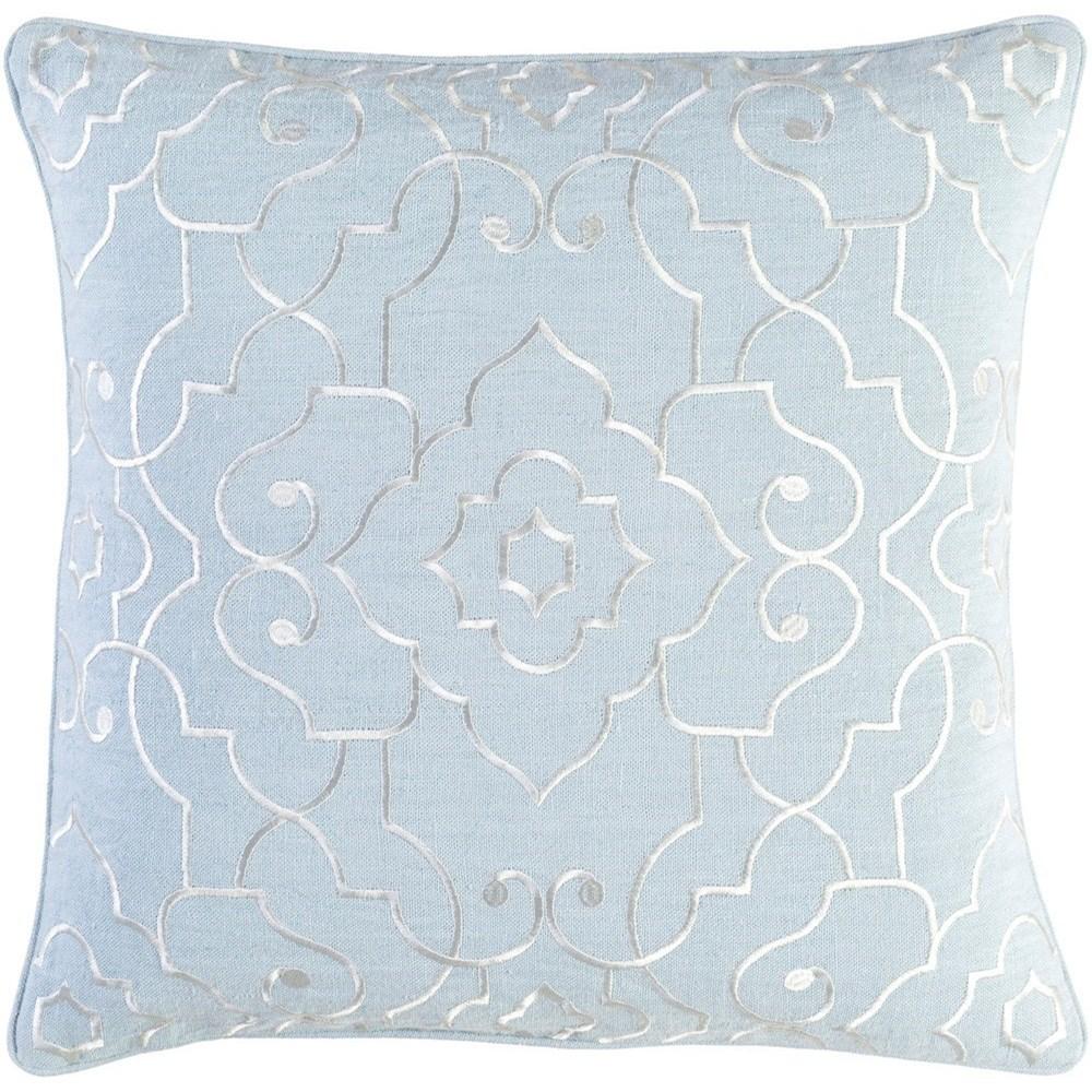 Adagio 18 x 18 x 4 Polyester Throw Pillow by Surya at Lynn's Furniture & Mattress
