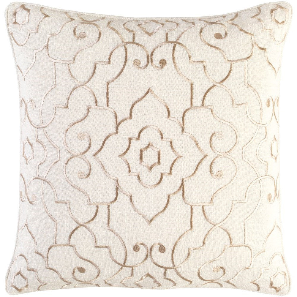 Adagio 18 x 18 x 4 Down Throw Pillow by Surya at Suburban Furniture