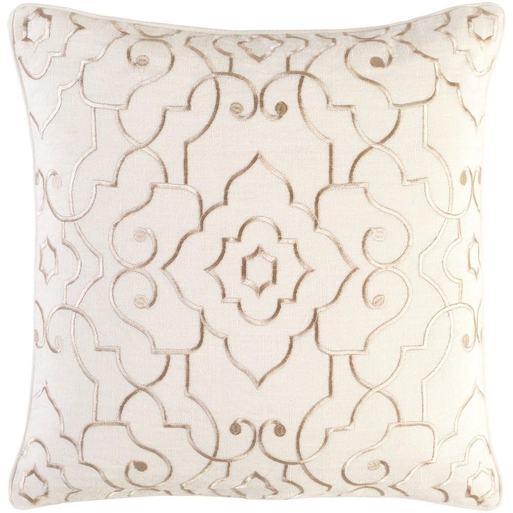 Adagio 22 x 22 x 5 Down Throw Pillow by Surya at Lynn's Furniture & Mattress