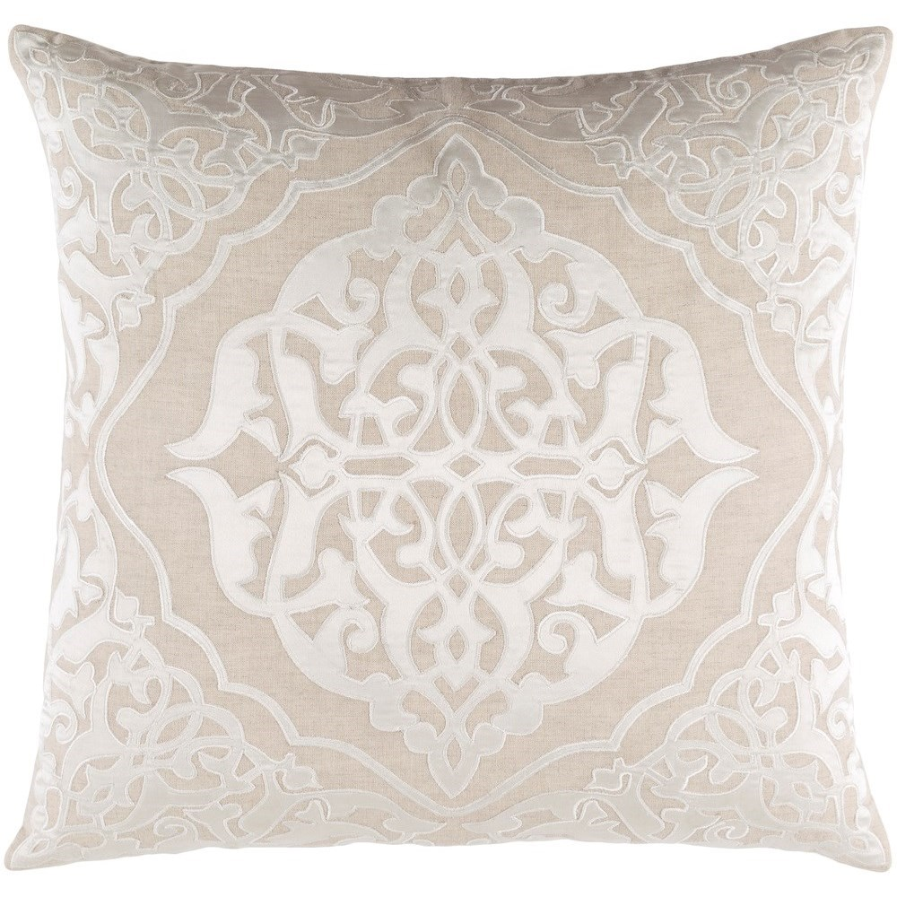 Adelia 18 x 18 x 4 Polyester Throw Pillow by Surya at Lynn's Furniture & Mattress