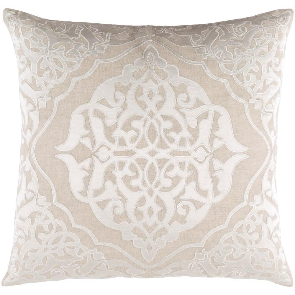 Adelia 20 x 20 x 4 Down Throw Pillow by Surya at Lynn's Furniture & Mattress