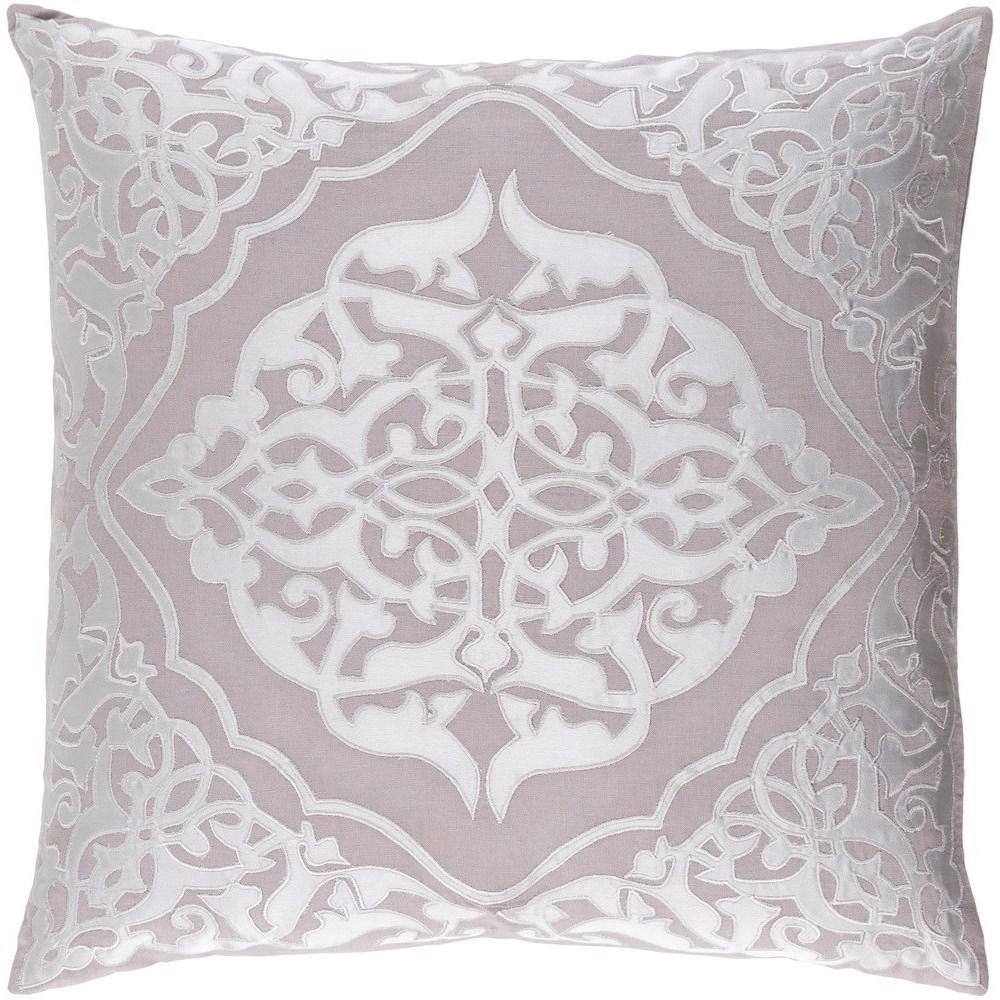 Adelia 20 x 20 x 4 Polyester Throw Pillow by Surya at Lynn's Furniture & Mattress