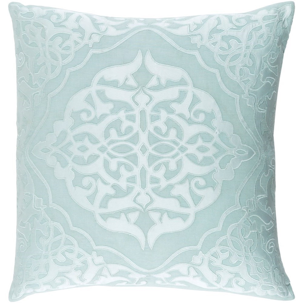 Adelia 22 x 22 x 5 Polyester Throw Pillow by Surya at Lynn's Furniture & Mattress