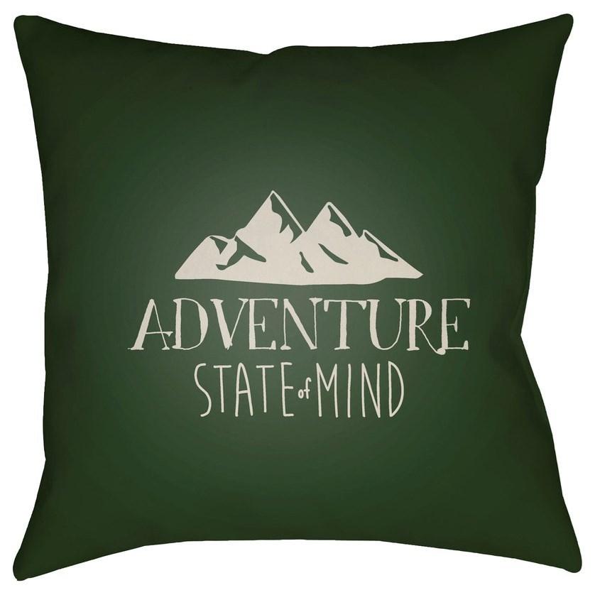Adventure III 20 x 20 x 4 Polyester Throw Pillow by Surya at Lynn's Furniture & Mattress
