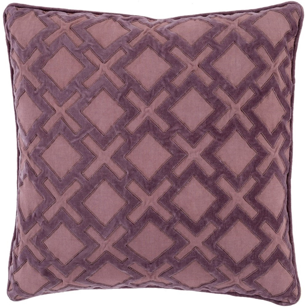 Alexandria 22 x 22 x 5 Down Throw Pillow by Surya at SuperStore