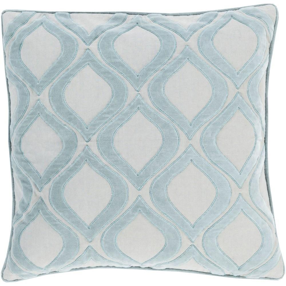 Alexandria 22 x 22 x 5 Down Throw Pillow by Surya at Wayside Furniture