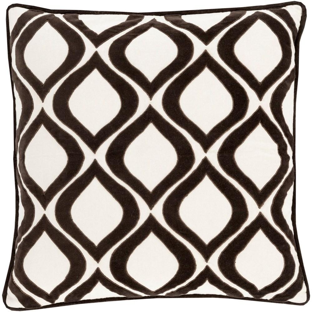 Alexandria 18 x 18 x 4 Down Throw Pillow by Surya at Fashion Furniture