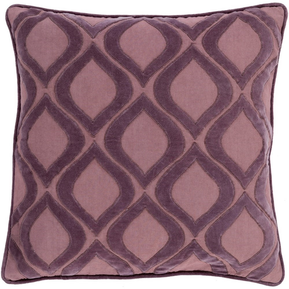 Alexandria 18 x 18 x 4 Down Throw Pillow by Surya at SuperStore