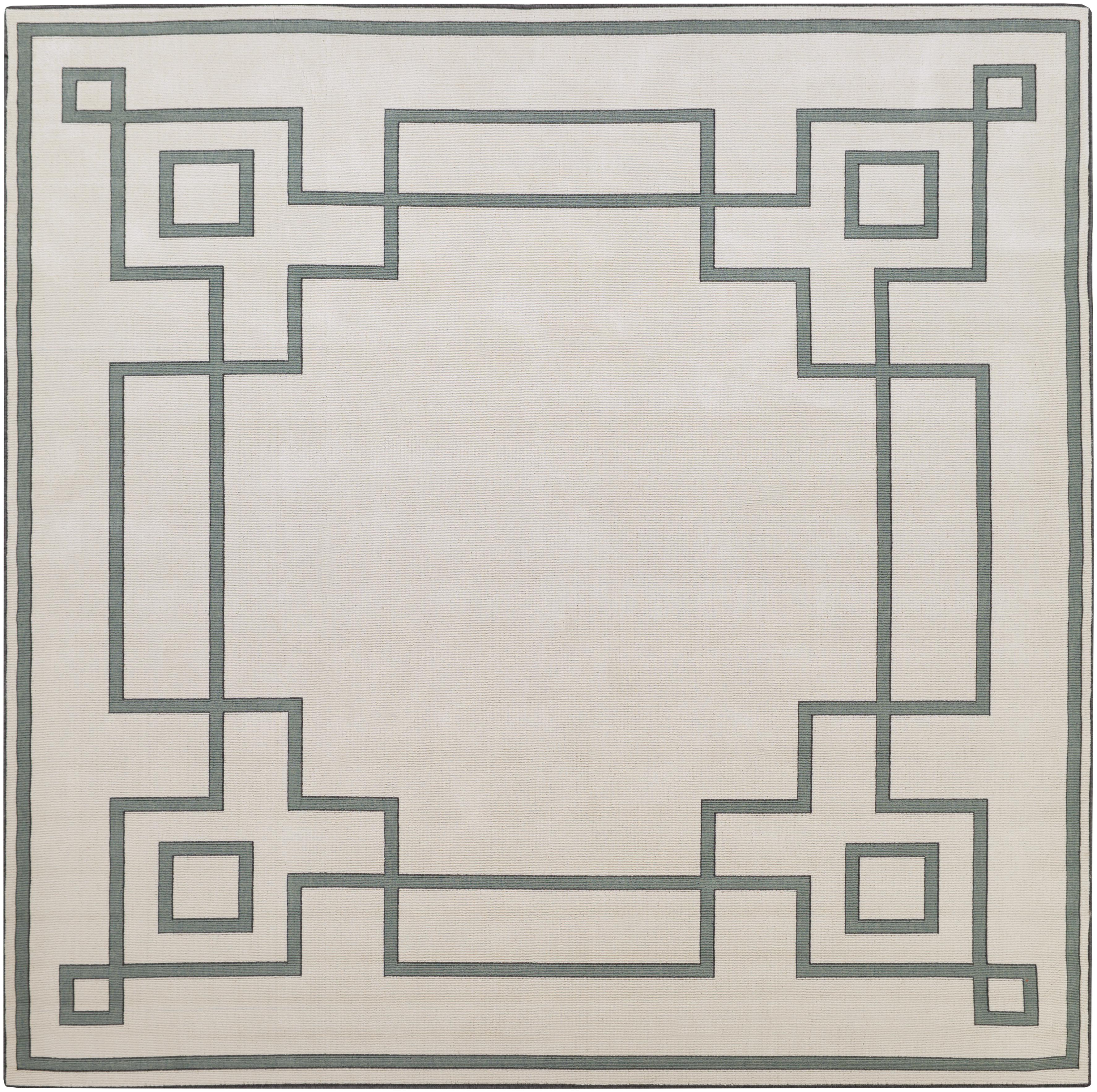 "Alfresco 8'9"" Square by Surya at Suburban Furniture"
