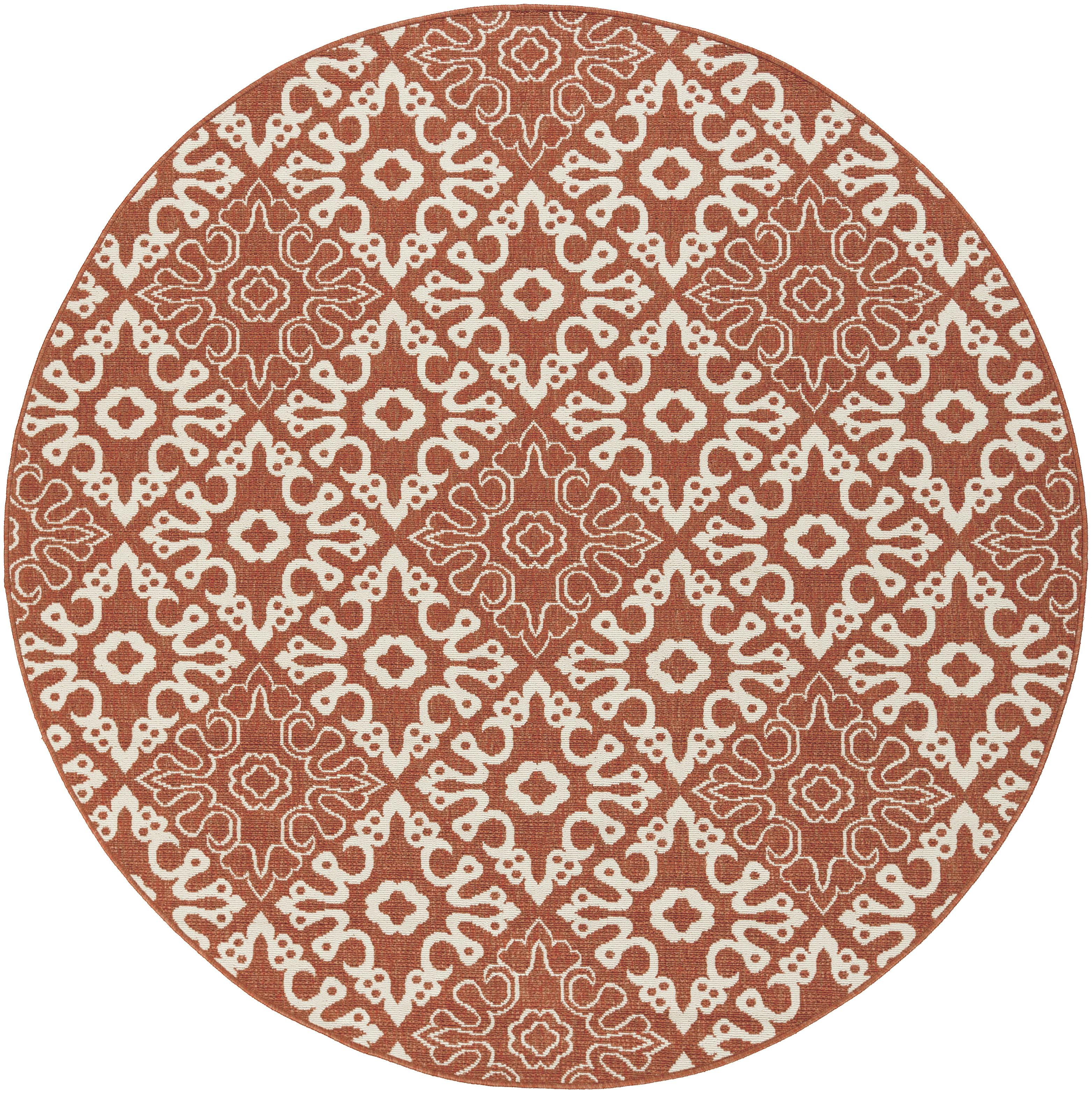 "Alfresco 8'9"" Round by Surya at Suburban Furniture"