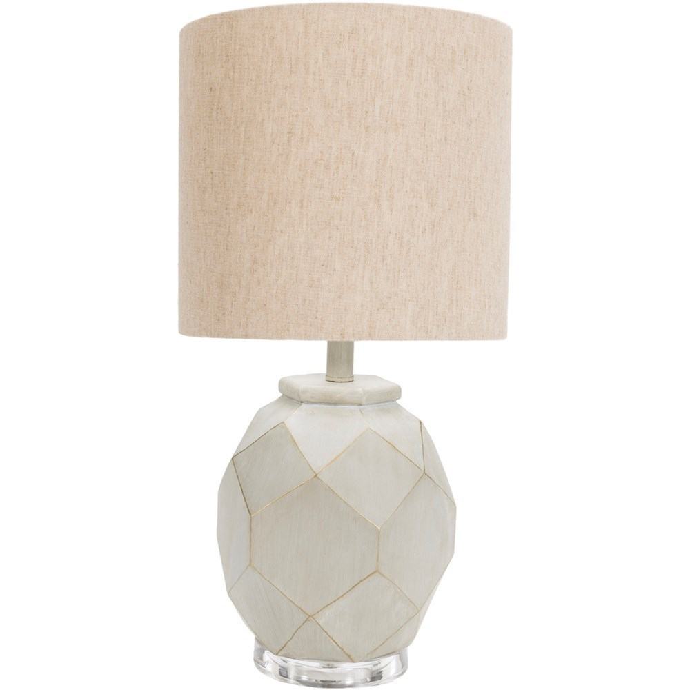Alma Painted Modern Table Lamp by Ruby-Gordon Accents at Ruby Gordon Home