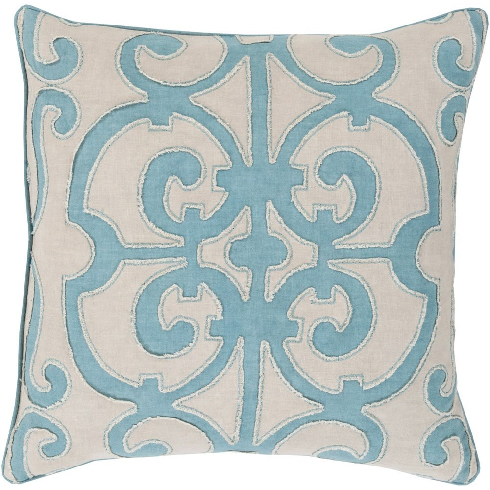 Amelia 18 x 18 x 4 Down Throw Pillow by Surya at SuperStore