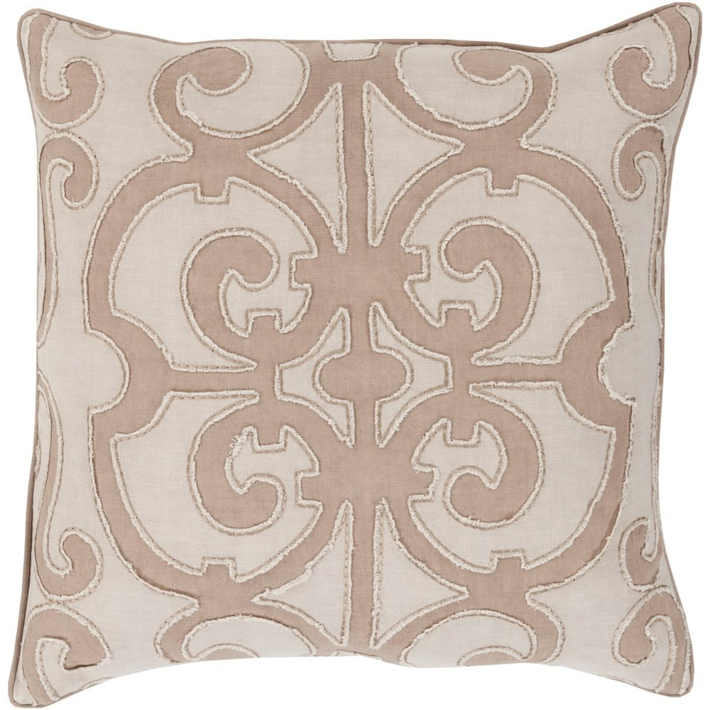 Amelia 20 x 20 x 4 Down Throw Pillow by Surya at SuperStore