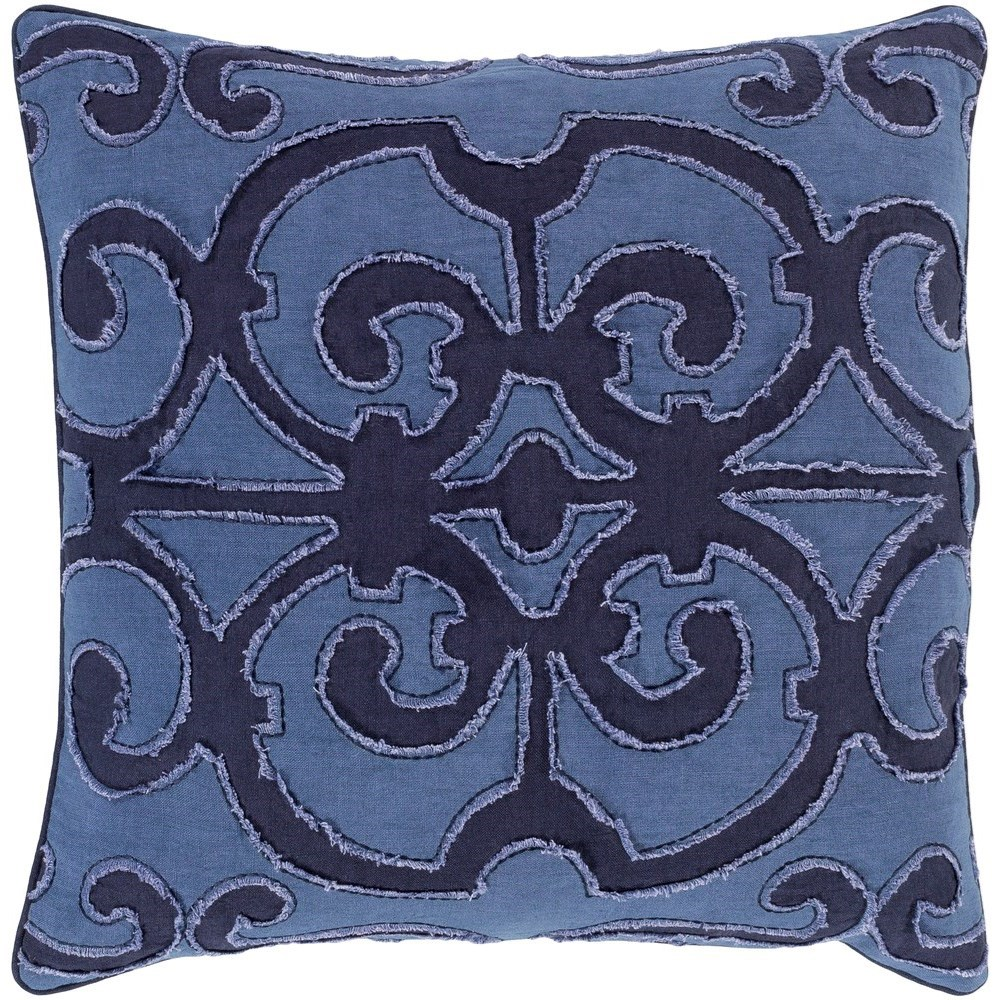 Amelia 22 x 22 x 5 Polyester Throw Pillow by Ruby-Gordon Accents at Ruby Gordon Home
