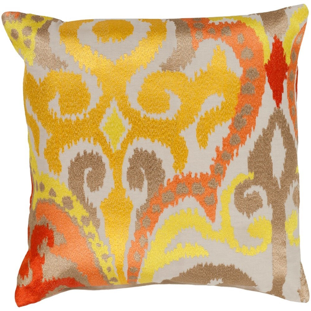 Ara 20 x 20 x 4 Down Throw Pillow by Surya at SuperStore