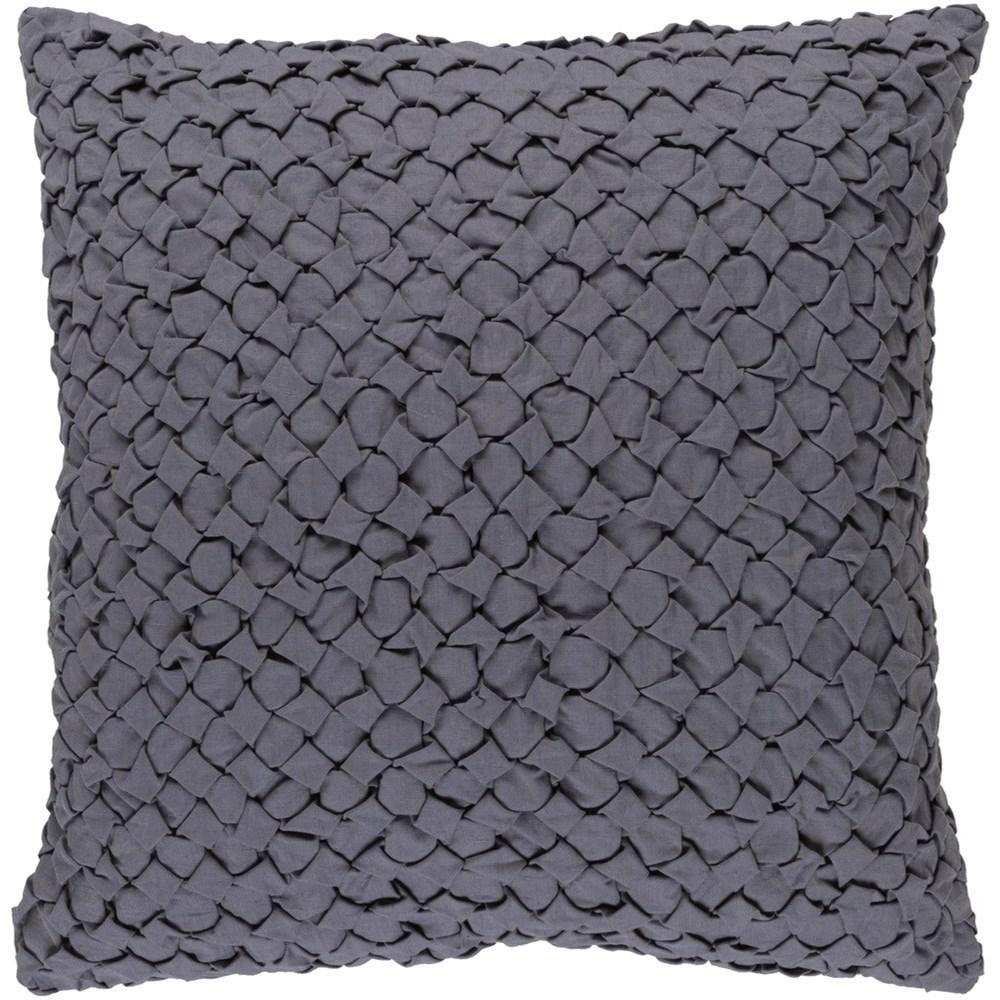 Ashlar 22 x 22 x 5 Polyester Throw Pillow by Surya at Wayside Furniture