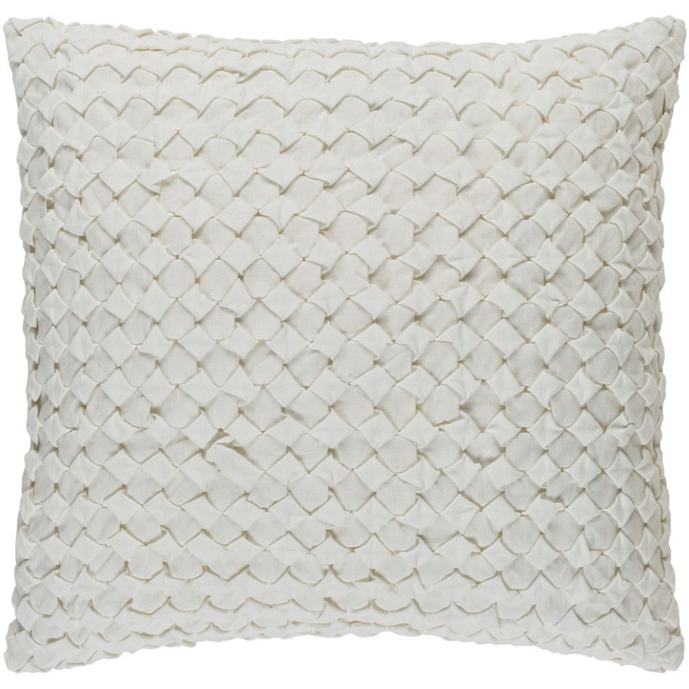 Ashlar 22 x 22 x 5 Polyester Throw Pillow by Surya at SuperStore