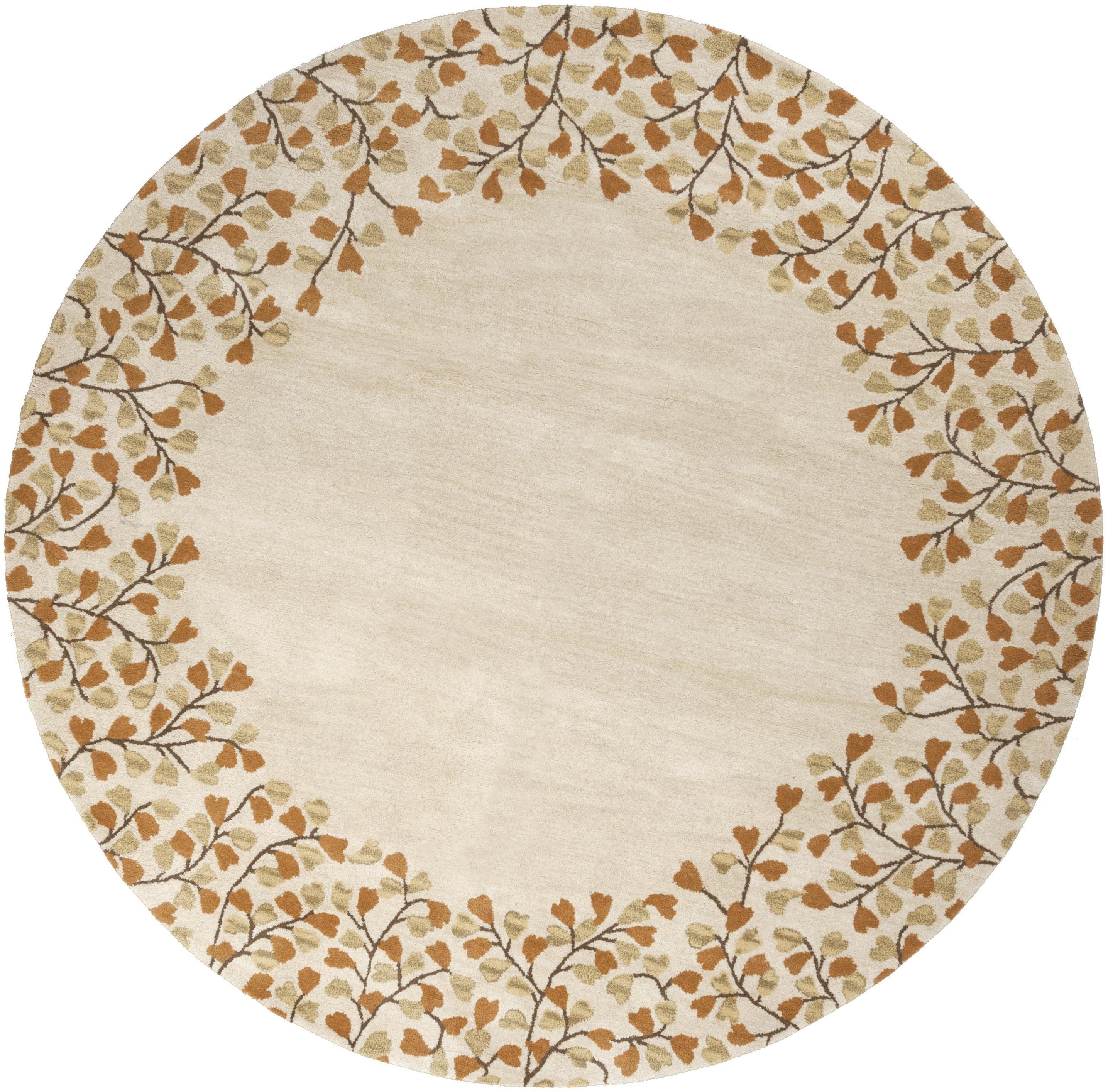 Athena 6' Round by Surya at Wayside Furniture