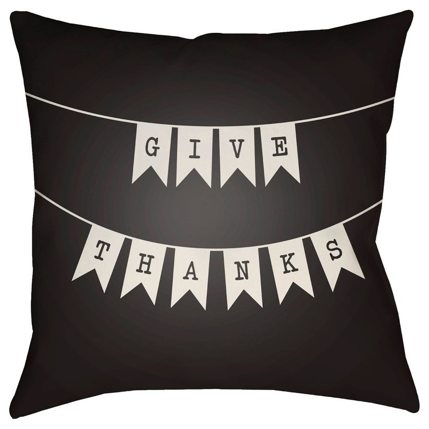 Banner 20 x 20 x 4 Polyester Throw Pillow by Ruby-Gordon Accents at Ruby Gordon Home
