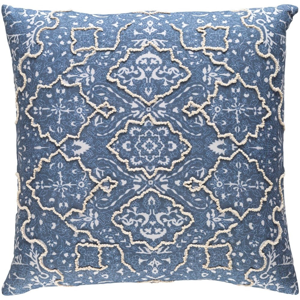 Batik 20 x 20 x 4 Polyester Pillow Kit by Surya at SuperStore