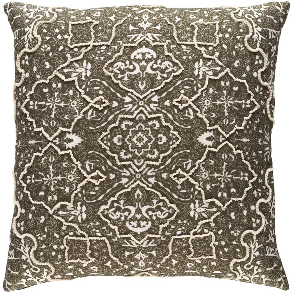 Batik 20 x 20 x 4 Down Pillow Kit by Surya at SuperStore