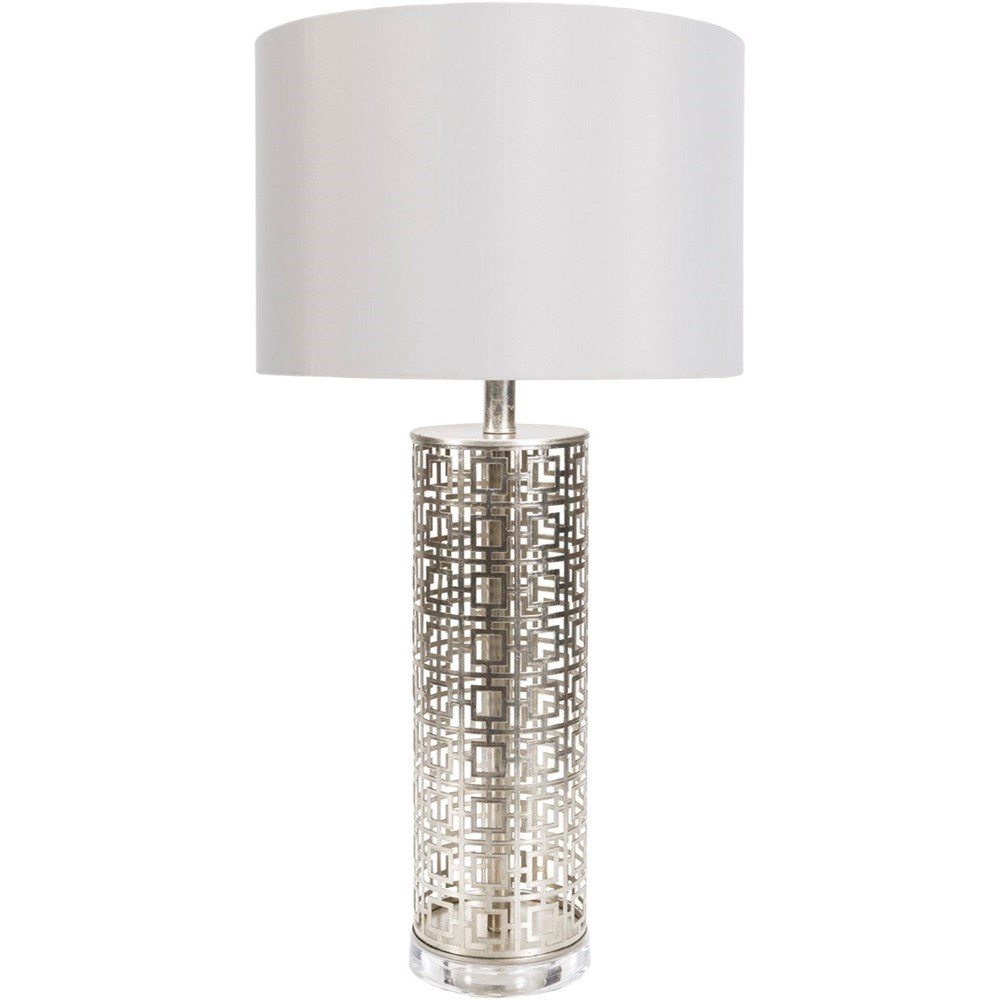 Beatrice Painted Glam Table Lamp by 9596 at Becker Furniture