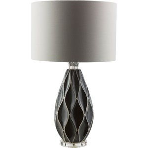 Grey Modern Table Lamp