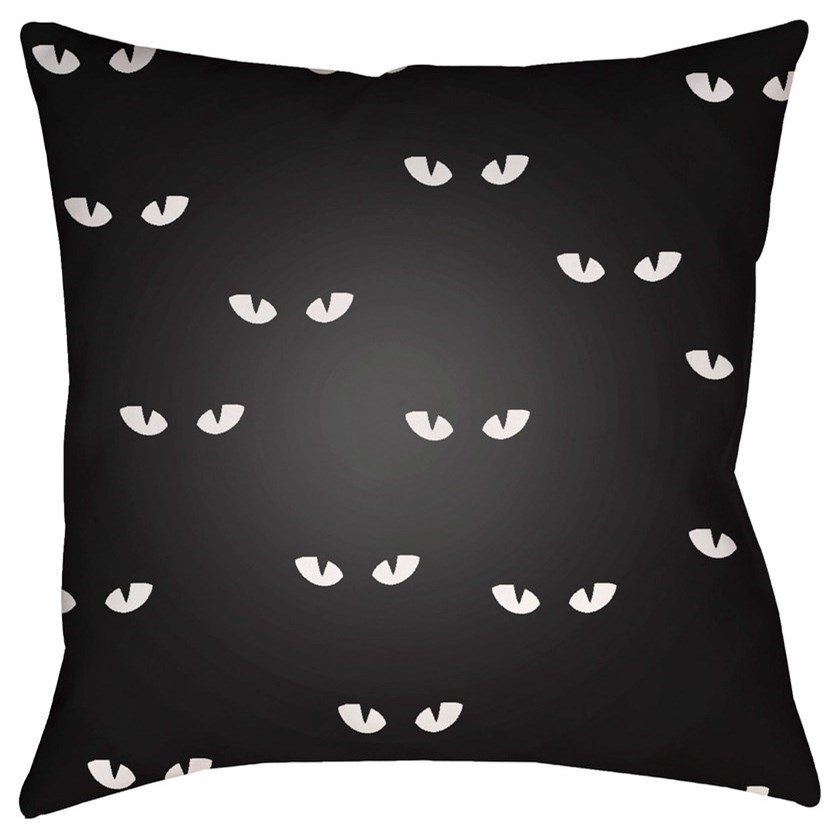 Boo 18 x 18 x 4 Polyester Throw Pillow by Ruby-Gordon Accents at Ruby Gordon Home