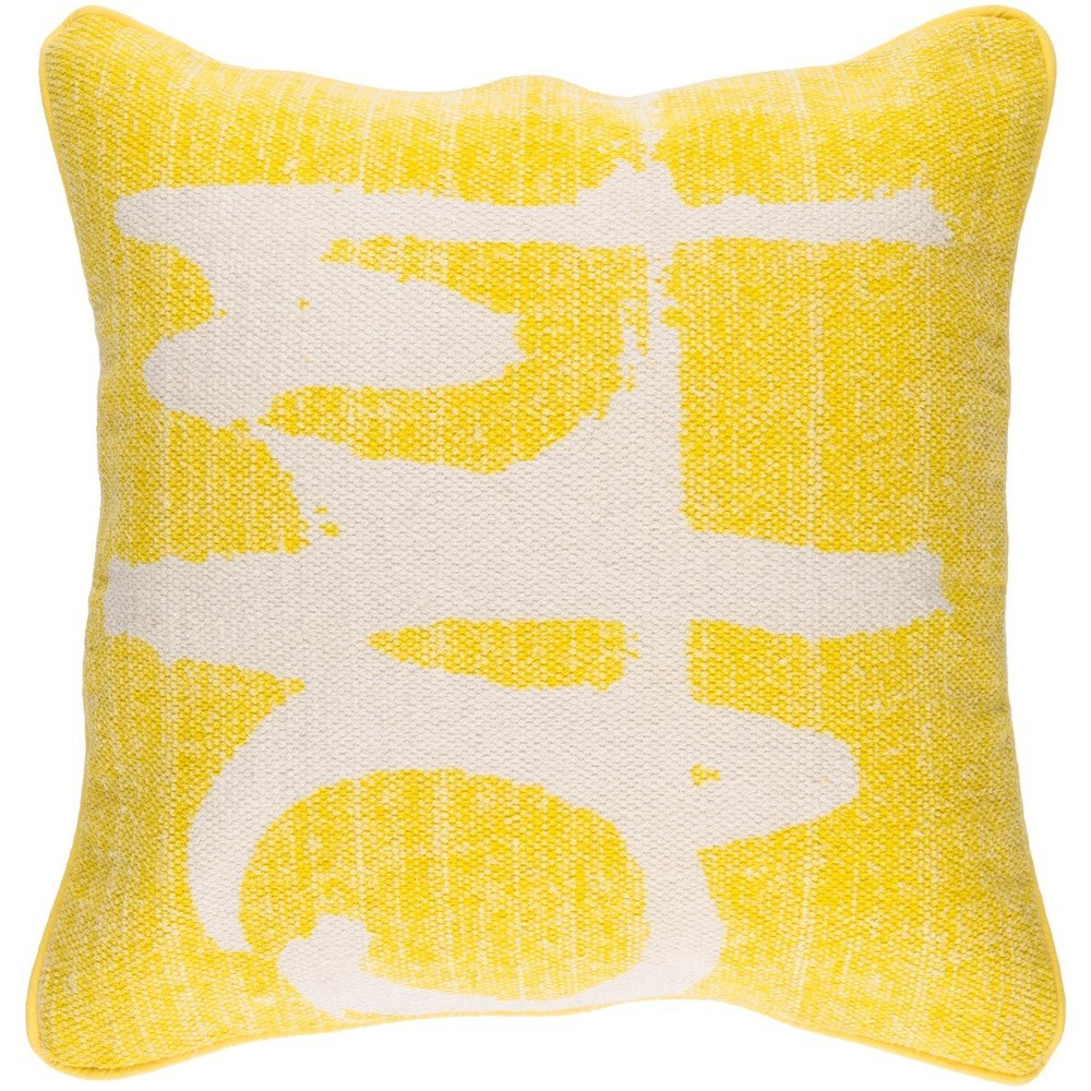 Bristle 20 x 20 x 4 Down Throw Pillow by Surya at SuperStore