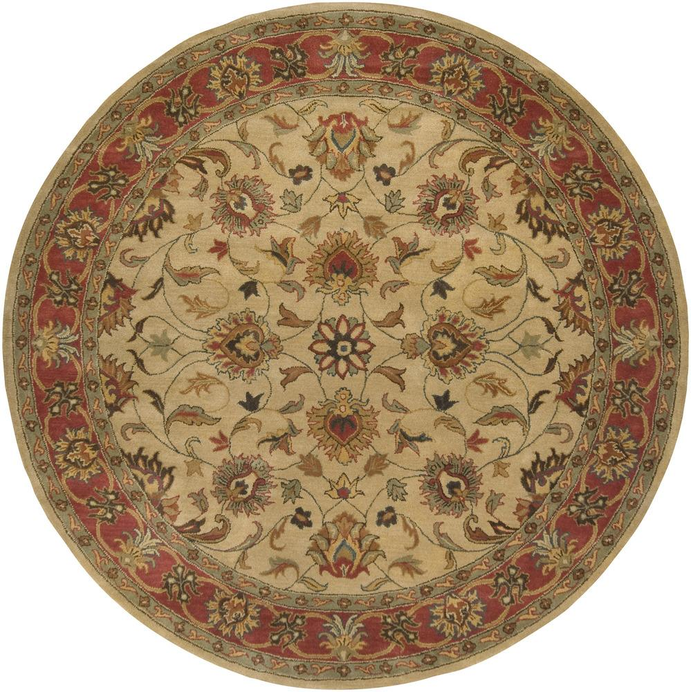 Caesar 8' Round by Ruby-Gordon Accents at Ruby Gordon Home
