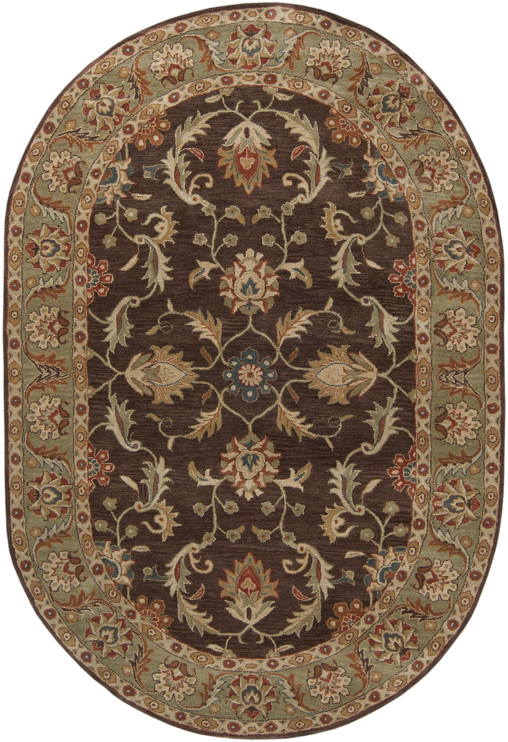 Caesar 8' x 10' Oval by 9596 at Becker Furniture