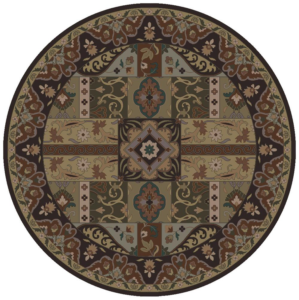 Caesar 4' Round by Ruby-Gordon Accents at Ruby Gordon Home