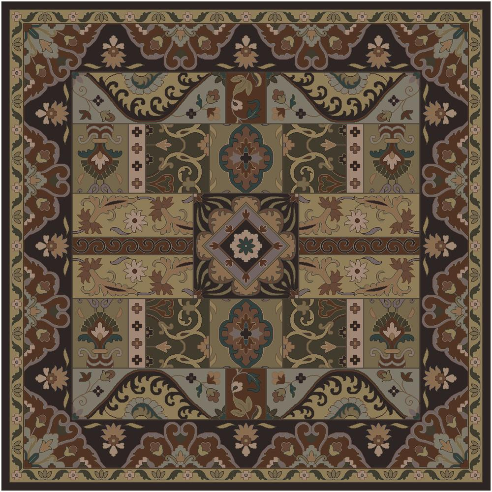 """Caesar 9'9"""" Square by 9596 at Becker Furniture"""
