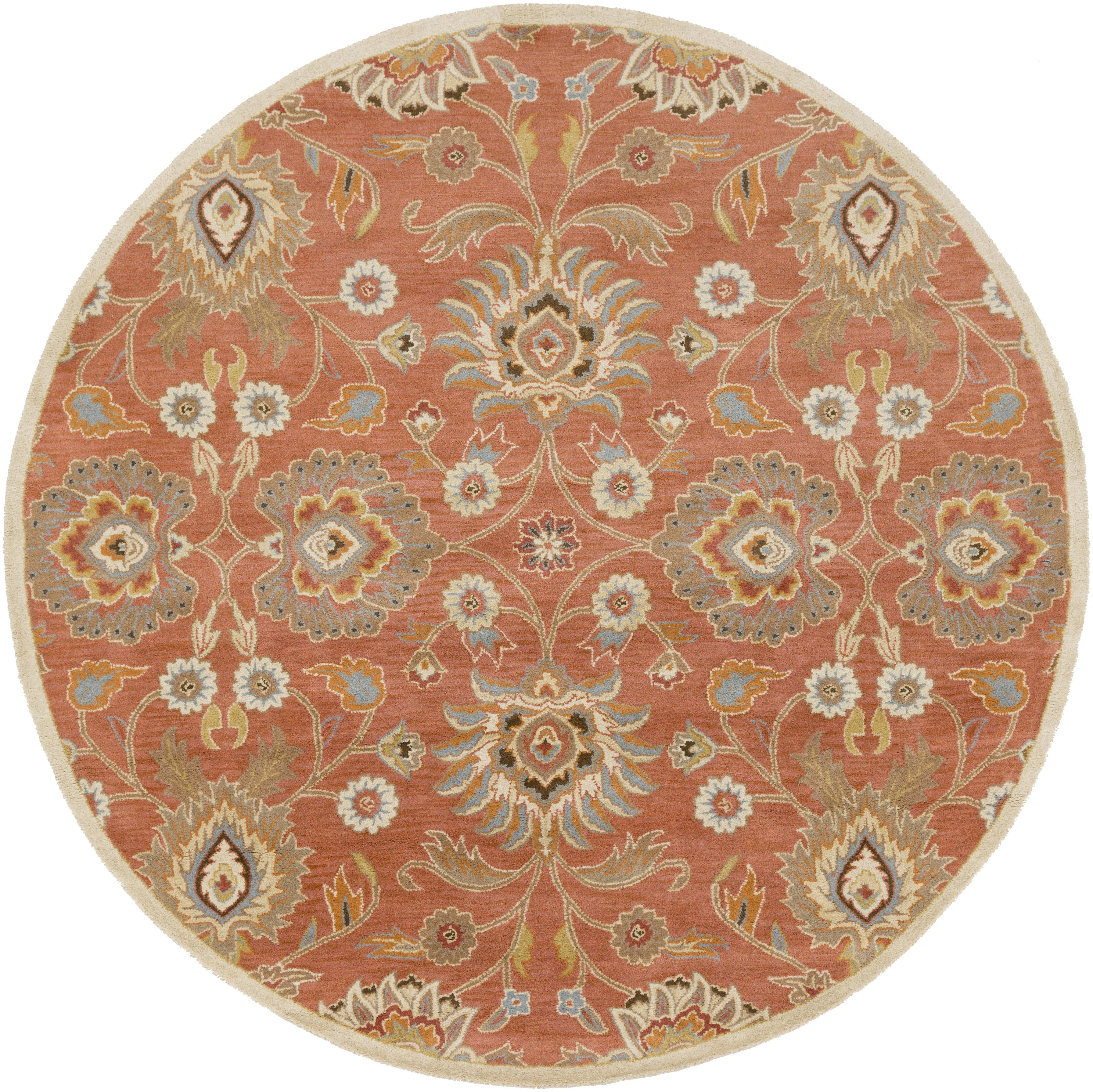 Caesar 4' Round by Surya at Esprit Decor Home Furnishings