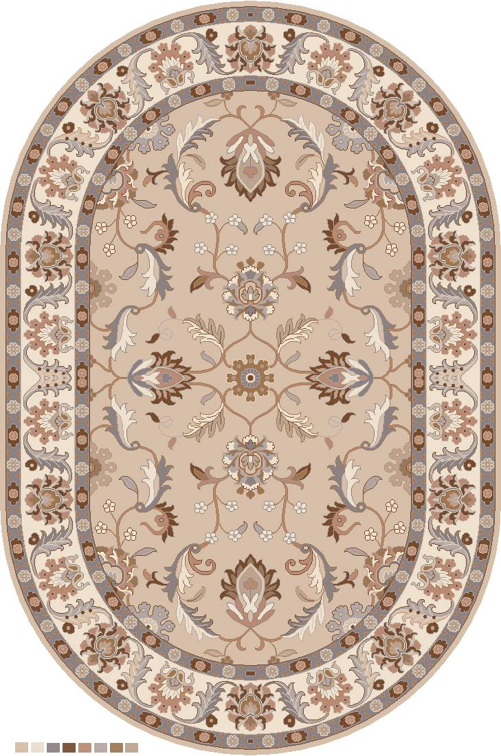 Caesar 6' x 9' Oval by Surya at Jacksonville Furniture Mart