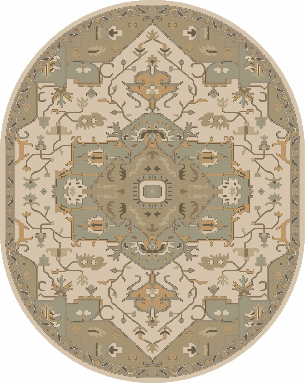 Caesar 6' x 9' Oval by Surya at Belfort Furniture
