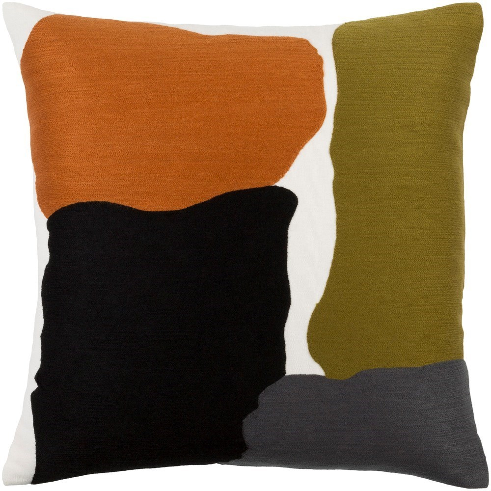 Charade 20 x 20 x 4 Down Throw Pillow by Surya at Belfort Furniture