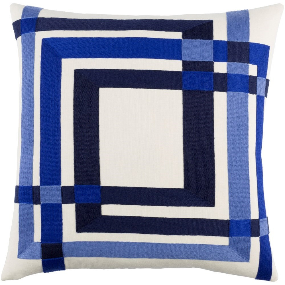 Color Form 20 x 20 x 4 Down Throw Pillow by Ruby-Gordon Accents at Ruby Gordon Home