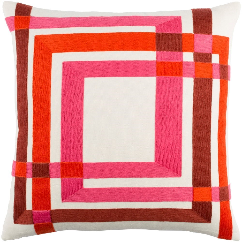 Color Form 20 x 20 x 4 Polyester Throw Pillow by Surya at SuperStore