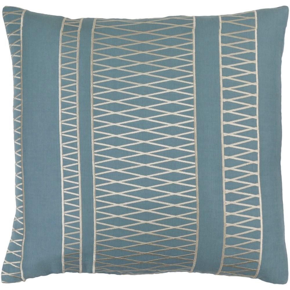 Cora 18 x 18 x 4 Down Throw Pillow by Ruby-Gordon Accents at Ruby Gordon Home