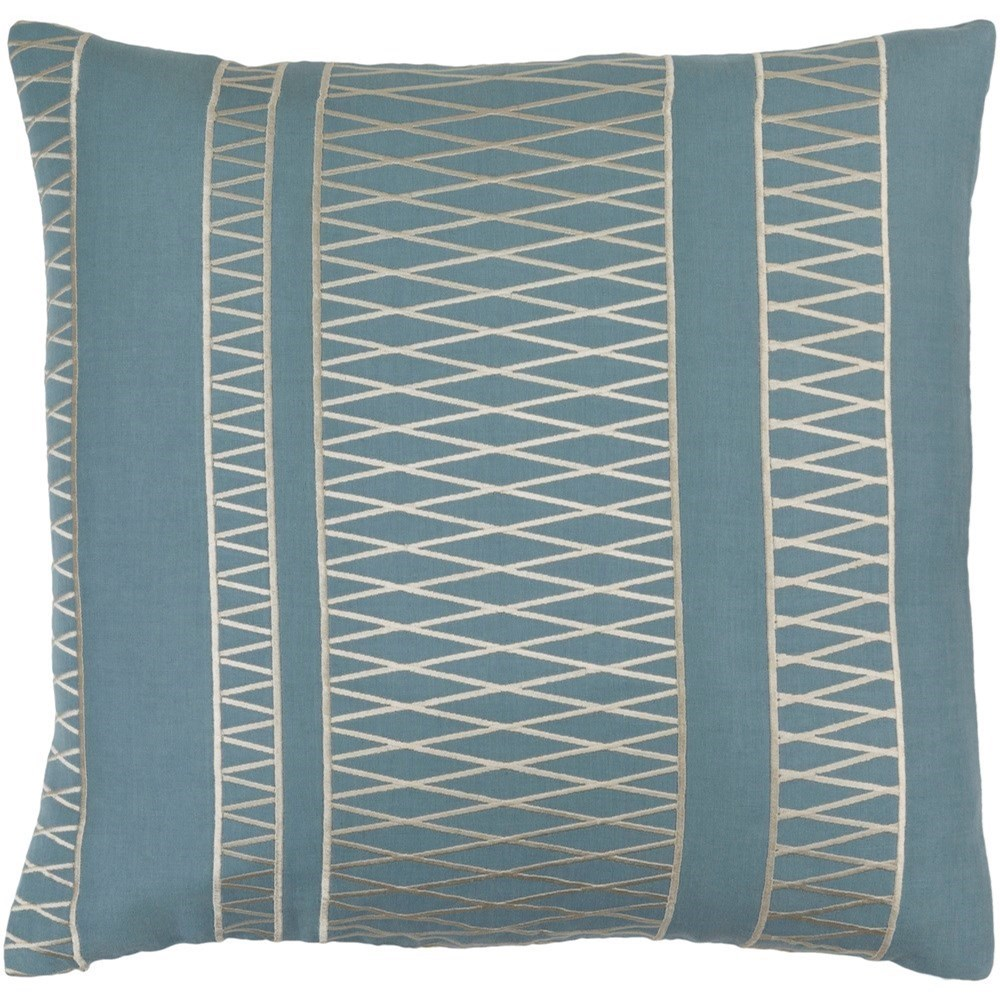 Cora 20 x 20 x 4 Down Throw Pillow by Ruby-Gordon Accents at Ruby Gordon Home