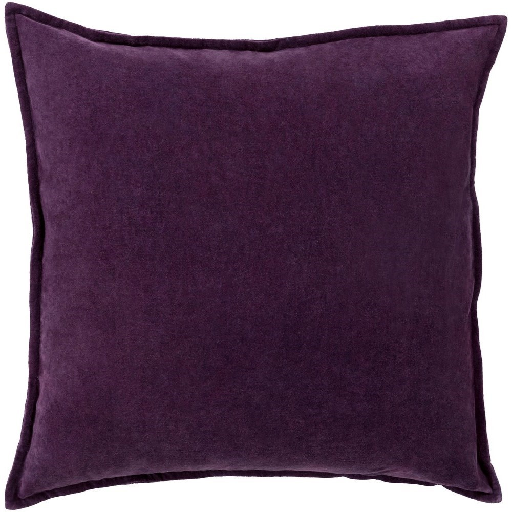 Cotton Velvet 13 x 19 x 4 Down Pillow Kit by Surya at Upper Room Home Furnishings