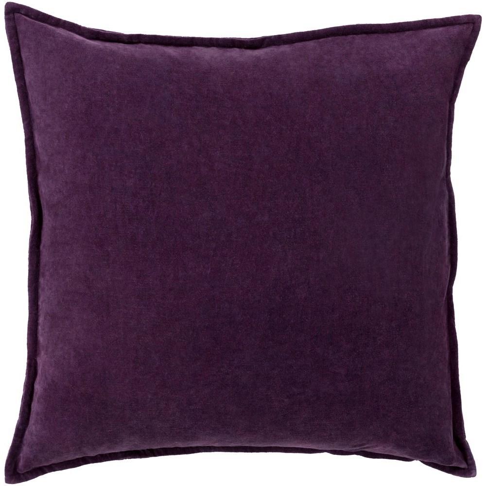 Cotton Velvet 13 x 19 x 4 Polyester Pillow Kit by Surya at Suburban Furniture